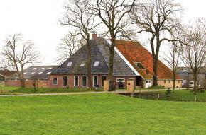 Voorgevel boerderij Hartwerd