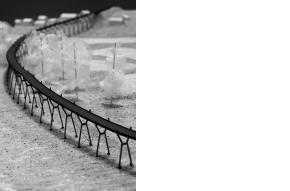 Maquette ontwerp overbrugging